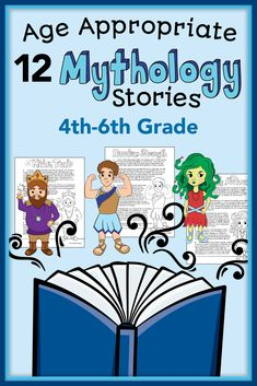 12 kid friendly Greek Mythology stories for grade. Great stories for upper elementary! We love to make kids laugh and can provide puppet show entertainment for your next child's birthday party Reading Strategies, Reading Activities, Reading Skills, Teaching Reading, Summer Activities, Reading Comprehension, Learning, 6th Grade Reading, 6th Grade Ela