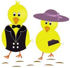 Free Image on Pixabay - Chicks, Easter, Sunday, Chick Cliparts Free, Chicken Hats, Doodle, Circle Magnets, Inkscape Tutorials, Paint Shop, Vintage Easter, Handmade Design, Vintage Postcards