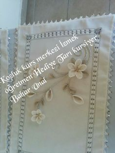 . Table Runners, Couture, Crochet, Frame, Home Decor, Salons, Ribbons, Embroidery, Picture Frame