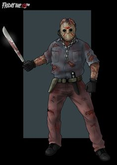 ultimate jason  -  commission by nightwing1975
