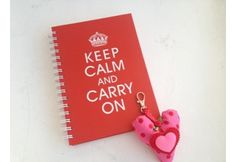 Keep Calm and Carry On notitieboek