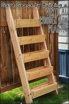 my next project Ana White Build a Cedar Vertical Tiered Ladder Garden Planter Free and Easy DIY Project and Furniture Plans Vertical Garden Diy, Vertical Gardens, Vertical Planter, Small Gardens, Tiered Planter, Modern Gardens, Raised Planter, Ana White, White White