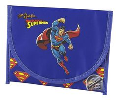 DC Comics Superman Reusable Thermal Sandwich Lunch Bag New Licensed