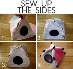 How to Sew a Small Animal Tent for a Rat, Guinea Pig, or Hamster whale species whale whales rats animals bucks Diy Guinea Pig Cage, Guinea Pig House, Pet Guinea Pigs, Guinea Pig Care, Diy Guinea Pig Toys, Hamster Bedding, Guinea Pig Bedding, Diy Rat Toys, Guinea Pig Accessories