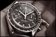 The Omega Speedmaster Co-Axial Chronograph