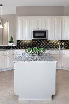 38 Black Kitchen Backsplash Tiles Ideas Black Backsplash Black Kitchens Traditional Kitchen Design