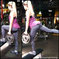 Leg & Booty Workout! Eight Week Extravaganza workouts and meal program on FITNESS BARBIE LAUREN GLEISBERG BLOG