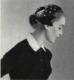 1955 Pierre Balmain HAT