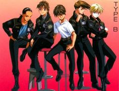 Gundam Wing ~~After the war, the boys wore Preventer Uniforms and attempted to keep the peace they fought so hard to attain.
