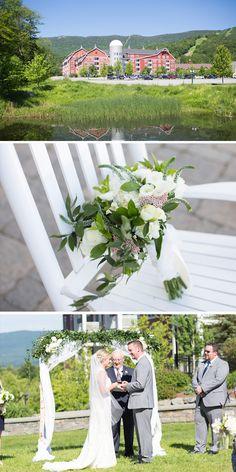 Kelly & Ronnie Real Vermont Wedding Inspiration   Mountain Resort Wedding   Vermont Bride Magazine