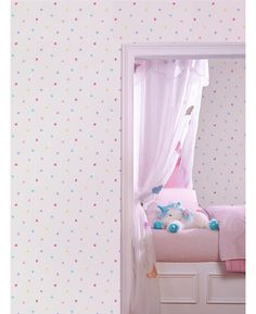 High quality heart themed wallpaper  Ideal for bedrooms and nurseries  10m (32.8 ft) long, 52cm (20.5in) wide