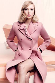 In Vogue: Léa Seydoux Interview - Talks James Bond and Spectre (Vogue.co.uk)