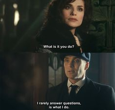 Charlotte Riley (May Carleton) and Cillian Murphy ( Tommy Shelby)  Tommy's horse trainer and lover, at least momentarily .