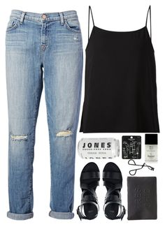 """Untitled #83"" by veronika-m ❤ liked on Polyvore featuring J Brand, ASOS, Helmut Lang, Topshop, Miss Selfridge and Butter London"
