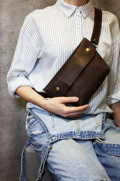 leather bag leather crossbody purse waist bags о.:separator:leather bag leather crossbody purse waist bags о. Best Leather Belt, Leather Backpack For Men, Leather Crossbody Bag, Leather Purses, Leather Handbags, Hip Bag, Inspiration Mode, Leather Bags Handmade, Leather Design