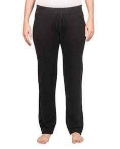 Kaschmir Trainerhose schwarz front Trainer, Sport, Pajama Pants, Pajamas, Sweatpants, Fashion, Cashmere, Black, Women's