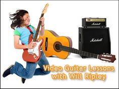 Video Guitar Lessons with Will Ripley. You are using an outdated browser. Please upgrade your browser or activate Google Chrome Frame to improve your experience. Get the Guitar Goals All Access Pass to 4 hours of guitar lessons that will take you from Zero to Guitar Hero!
