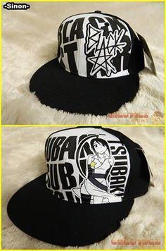 Soul Eater Black Star and Tsubaki hats.