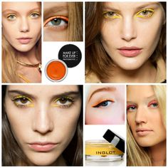 Summer Make-up Trend: Colored Eyeliner and Mascara