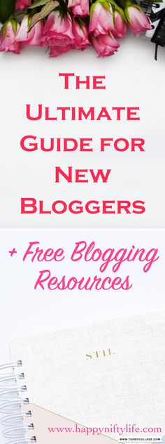 Here's a guide for beginner bloggers. The ultimate blogging resources and tools, especially handy for new and aspiring bloggers. #bloggingforbeginners #bloggingtips #bloggingtools #bloggingfreebies