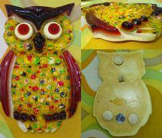 VTG 1970s Retro Lucite MOD Groovy Owl Sculpture Wall Art Trivet Spoon Rest 1974