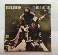 FREE SPEECH [LP] EDDIE HARRIS (VINYL 1970 ATLANTIC) FREE SHIPPING