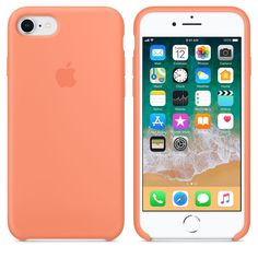 Keep your phone in tiptop condition with the Apple iPhone 8 & 7 Silicone Case. Designed to protect your phone without adding extra bulk, this iPhone case's interior is lined with soft microbre. Apple Iphone 6, Apple Ipad, Iphone 7 Cases Silicone, Iphone 8 Cases, Iphone 10, Iphone 7 Plus Funda, Ipod Touch, Telefon Apple, Capas Iphone 6