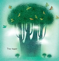 From A Leaf Can Be..., written by Laura Purdie Salas, illustrated by Violeta Dabija