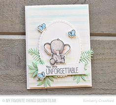 For the Love of Paper: unforgettable; MFT Stamps December Release Countdown Begins!