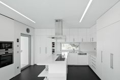 Nice and clean kitchen.