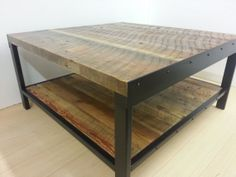 reclaimed coffee tabe by OldColumbusWoodworks on Etsy, $390.00