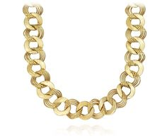 Mixed Links Necklace in 14k Yellow Gold | Blue Nile
