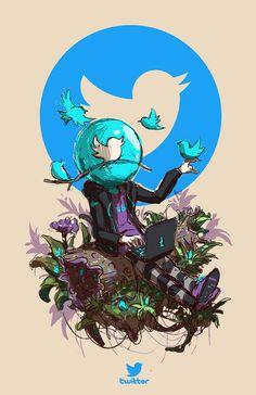 d9382441eba Marcas famosas personificadas nas ilustrações de Esoj Luna