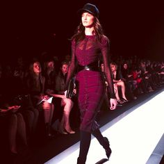 Herve Leger at Mercedes Benz Fashion Week 2013 Photo by rumineely