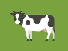 http://dribbble.com/shots/1021760-Cow