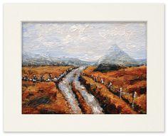 "Fine Art Giclee Print of Irish Painting, ""Backroad to Errigal"" by Stephen Shaw Irish Art, Giclee Print, I Shop, Fine Art, Traditional, World, Artist, Painting, Ebay"
