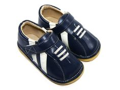 Boy Squeaky Shoes, Blue, Sporty, Removable Squeaker (Toddler/kid/children) Squeaky Shoes HLT. $21.99