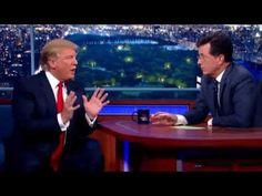 Stephen Colbert on President Donald Trump: 'I don't hate him'