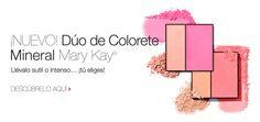 Conoce los Nuevos Dúos de Coloretes de Mary Kay y crea múltiples looks.