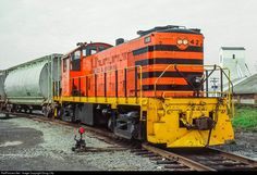 RailPictures.Net Photo: GNWR 42 Genesee & Wyoming Alco RS-1 at Retsof, New York by Doug Lilly