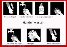 Picto handen wassen
