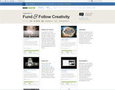 Kickstarter, 6th March 2012
