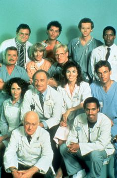The cast of St. Elsewhere. Do you know which of these actors guest starred on MASH?