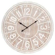 Wanduhr aus Holz D 80 cm NORWEDGE Maison Du Monde