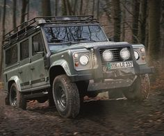 Land Rover Defender 110 SE – Blaser Limited Edition