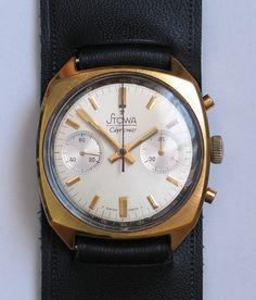 Vintage Swiss made Stowa Chrono from the 70's