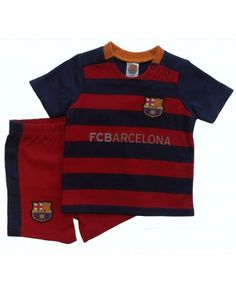 5b3e7d2a127 FC Barcelona Baby Kit T-Shirt   Shorts - 2015 16 Baby Kit