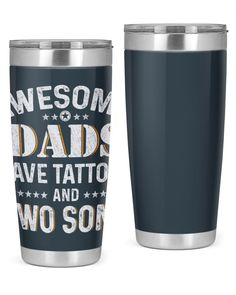 Awesome Dads Have Tattoos and Two Sons - Charcoal Grey tattoos fonts, mermaid tattoos, sunflower tattoos #tattooink #tattoosofinstagram #inkedandsexy, dried orange slices, yule decorations, scandinavian christmas Grandparents Tattoo, Dried Orange Slices, Mermaid Tattoos, Yule Decorations, Grey Tattoo, Tattoo Fonts, Scandinavian Christmas, Best Dad, Sons