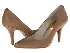 Most Comfortable Heels - MICHAEL Michael Kors MK Flex Mid Pump Black - Zappos.com Free Shipping BOTH Ways