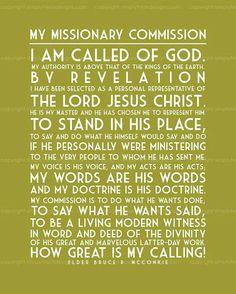 I am called of God